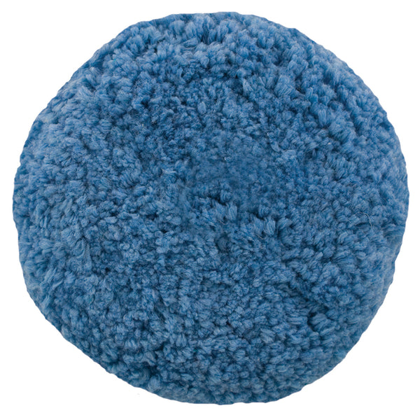 Presta Rotary Blended Wool Buffing Pad - Blue Soft Polish - *Case of 12* [890144CASE]