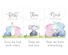 Load image into Gallery viewer, Baby Prints - Elephant Family Set of 3