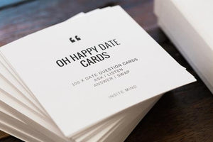 'Oh Happy Date' Cards