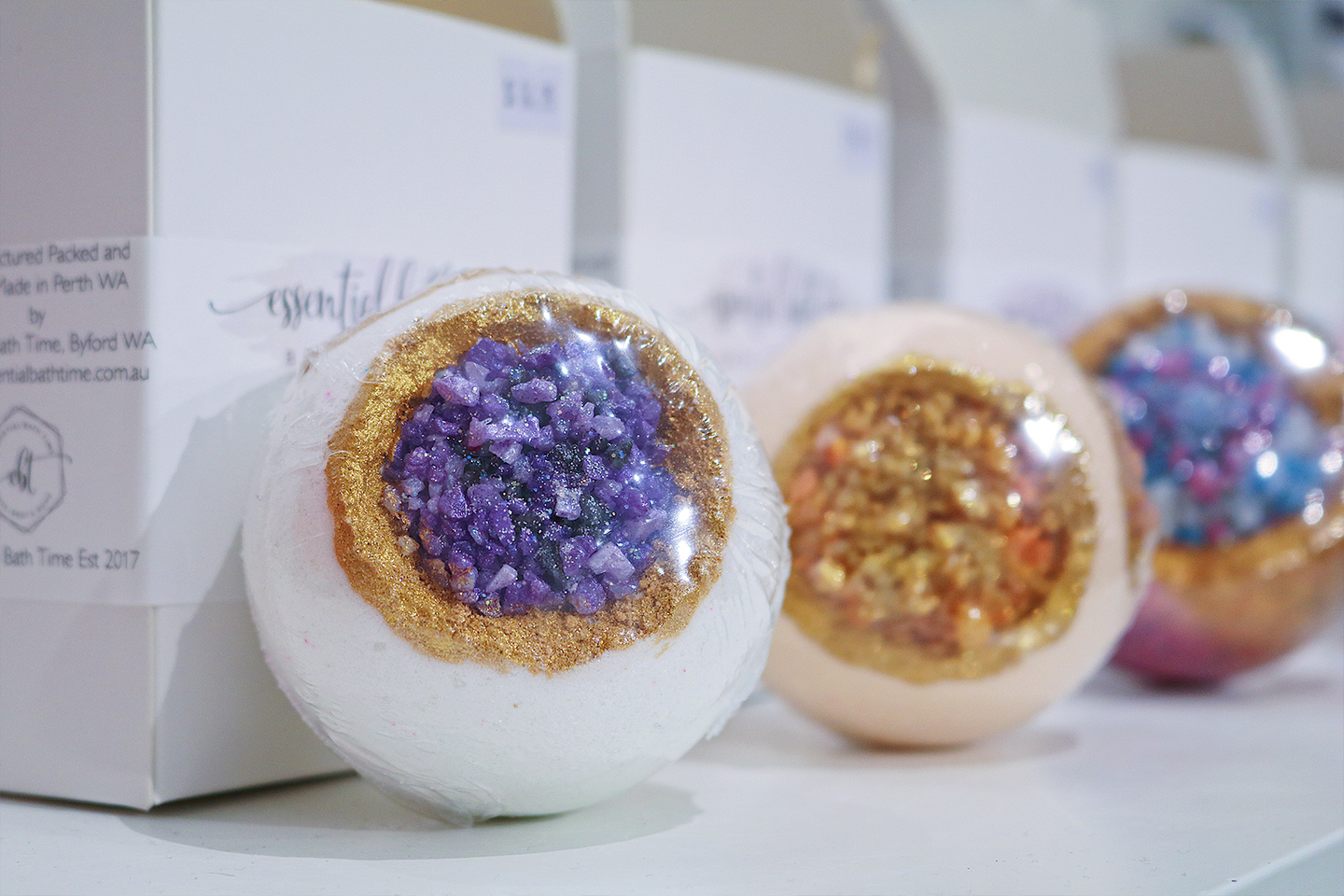 Luxe Bath Bombs