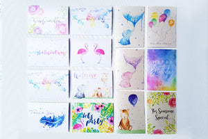 Greeting Cards Water Colour