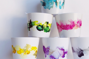 Ink Art Pots Small