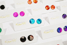Load image into Gallery viewer, Resin Art Earrings