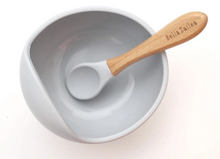 Load image into Gallery viewer, Silicone Suction Bowl + Spoon