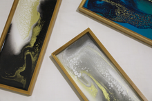 Load image into Gallery viewer, Resin + Bamboo Trays