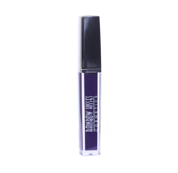 VIOLET KISS, liquid Matte Lipstick,Rainbow Kisses Cosmetics, bold, highly pigmented , gluten free, paraben free