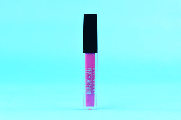 BLOSSOM KISS, LIP GLOSS,Rainbow Kisses Cosmetics, bold, highly pigmented , gluten free, paraben free