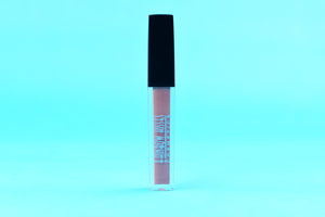 CARAMEL KISS, Lip Gloss,Rainbow Kisses Cosmetics, bold, highly pigmented , gluten free, paraben free