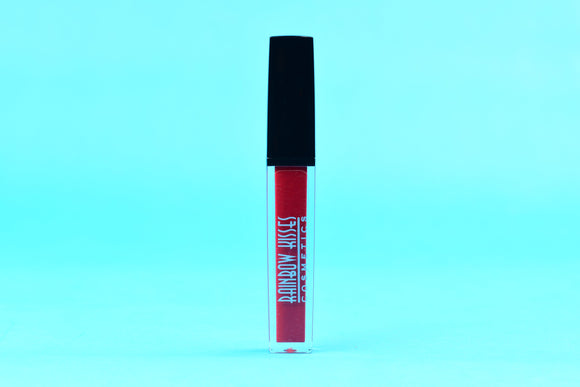 CHERRY KISS, Lip Gloss,Rainbow Kisses Cosmetics, bold, highly pigmented , gluten free, paraben free