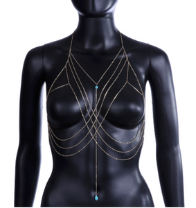 'Talisman' Gold Body Chain - 50% OFF
