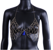 "'Peru"" Gold Chain Bra Body - 50% OFF"