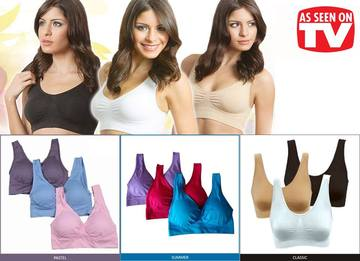 Seamless Pushup Bra
