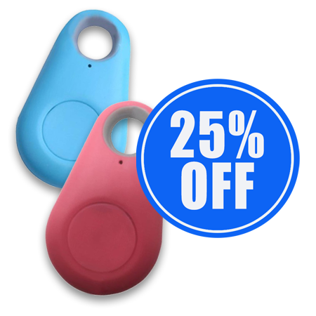 1 x Pet GPS Tracker And Activity Monitor + 1 25% OFF!