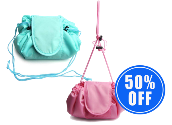 1 Instant Make-Up Bag + 1 50% OFF