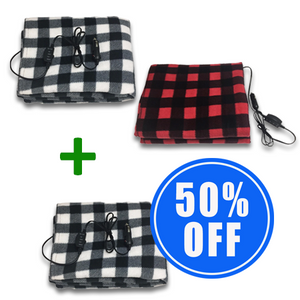 2 Mobile Electric Heating Blankets + 1 50% OFF!
