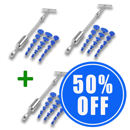 2 Paintless Dent Remover Bars + 1 50% OFF!