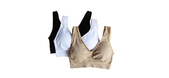 1 Seamless Push-Up Bra Set