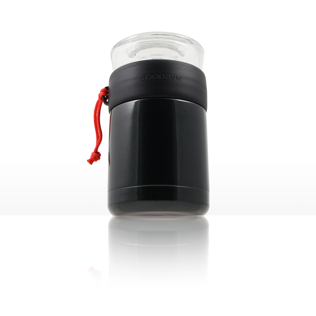Insulated Food Jar | 16 oz 2-in 1 | Black