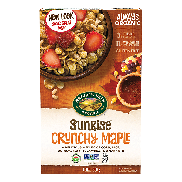 Nature's Path Sunrise Maple Cereal