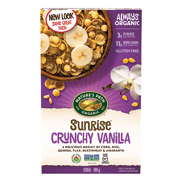 Nature's Path Sunrise Vanilla Cereal