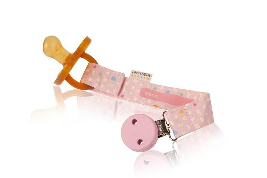 Pacifier Holder | Pink
