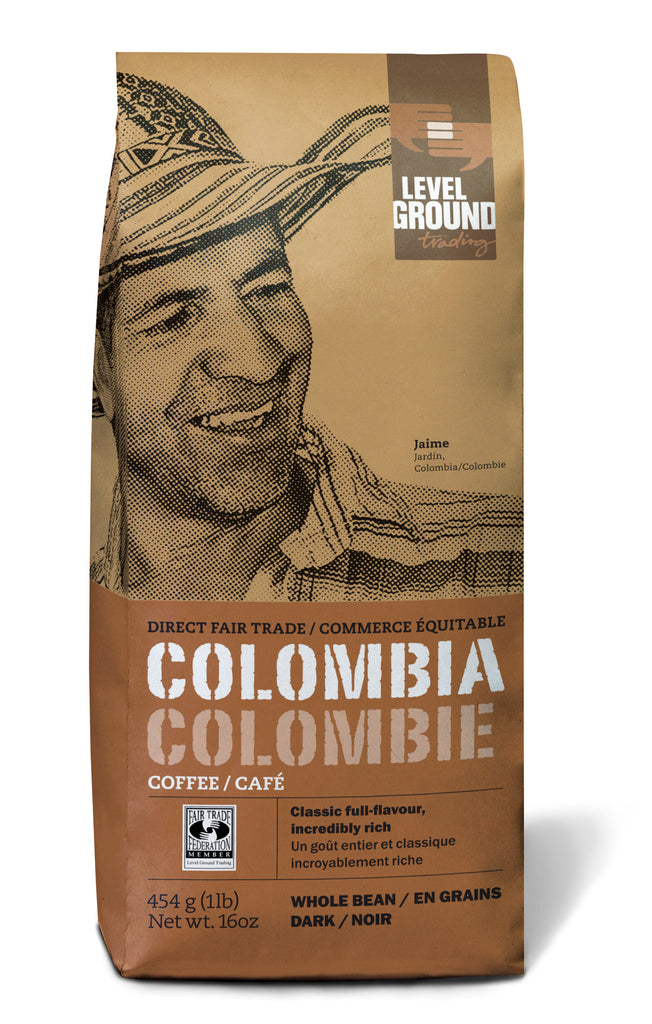 Colombian Dark Roast Coffee | 1 lb Beans