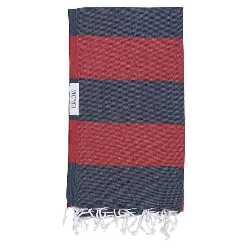 Buddhaful | Navy & Red