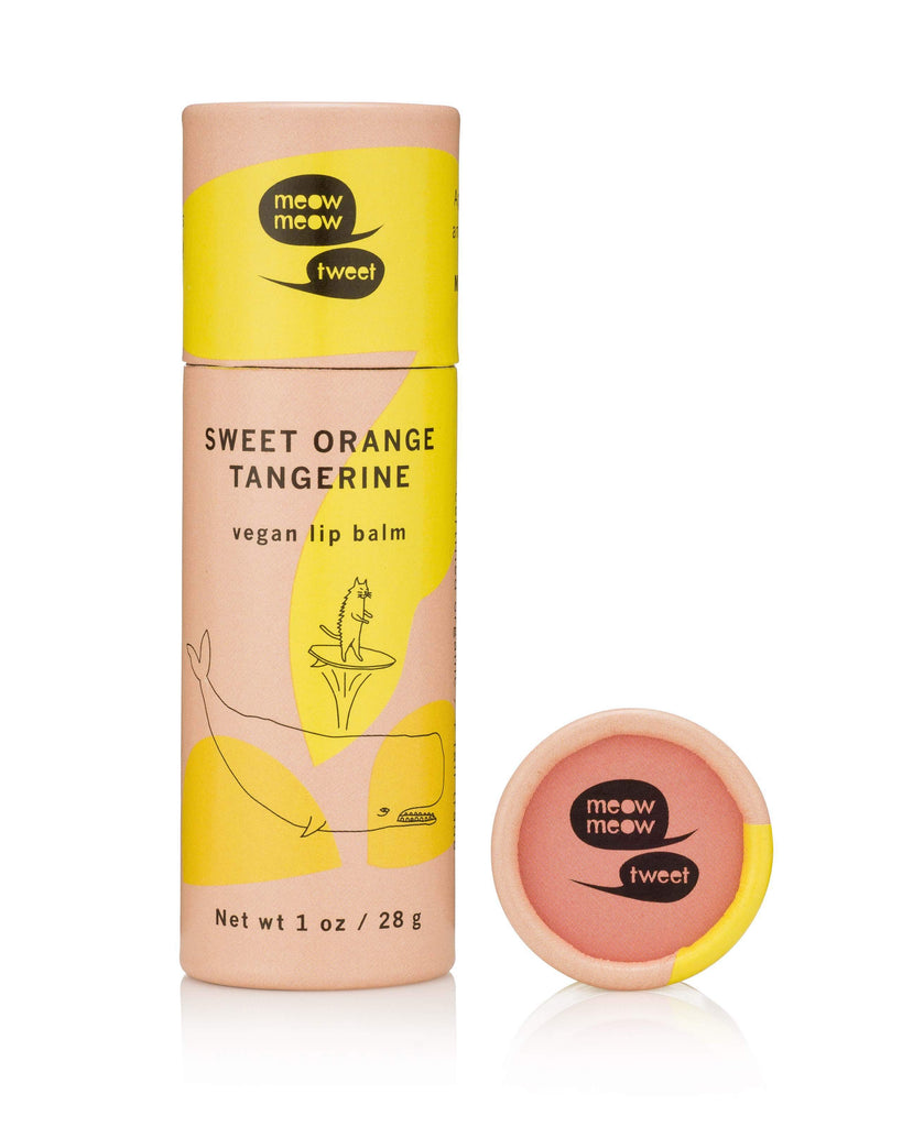 Vegan Lip Balm | Sweet Orange Tangerine 1oz