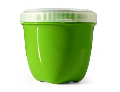 Mini Round Food Storage - Apple Green