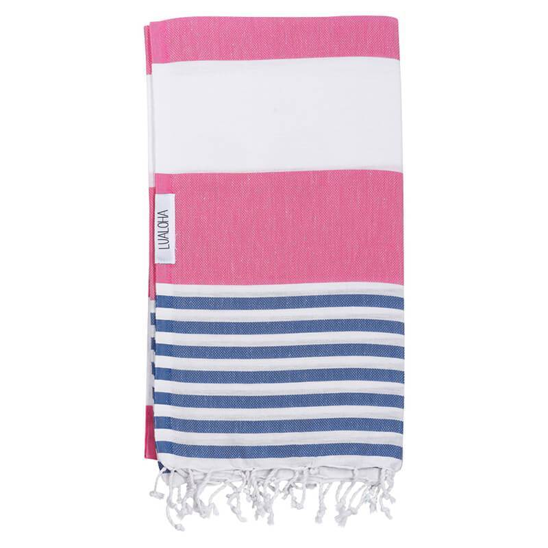 Striped Goodness | Hot Pink & Denim