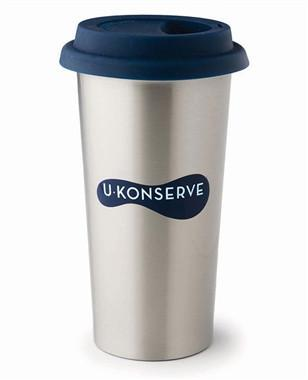 Navy Insulated Coffee Cup