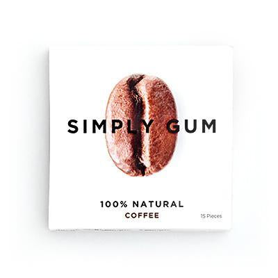 Coffee Natural Chewing Gum
