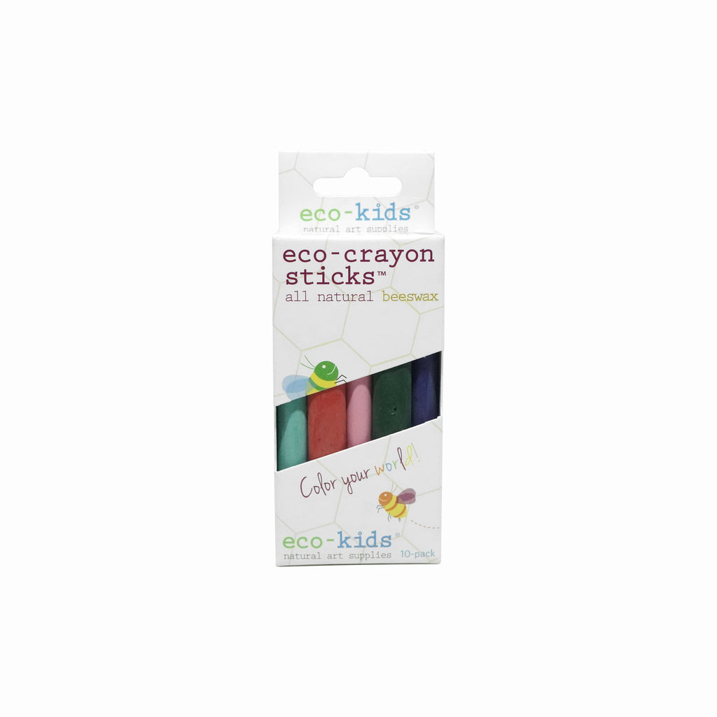 Eco-Crayon Sticks | 10 Pack