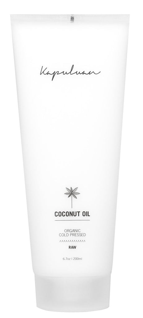 6.7oz Tube Coconut Oil Raw Organic