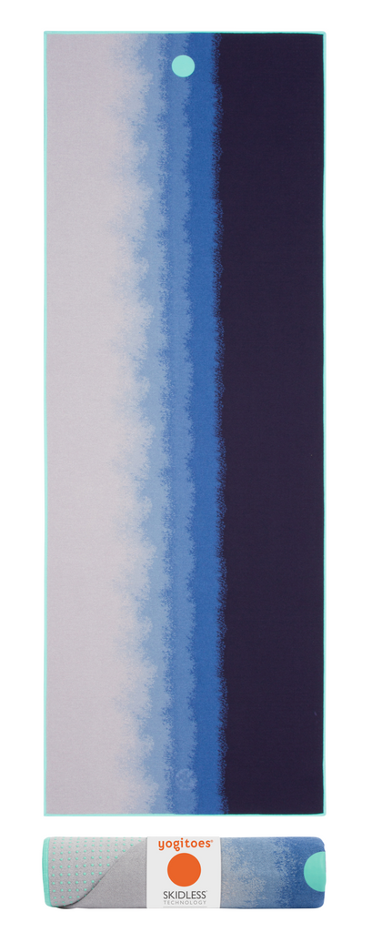 yogitoes Skidless Towels | Waterfall Collection | Midnight