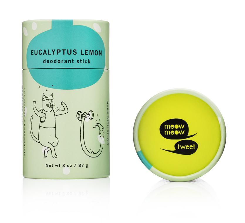 Deodorant Stick Lemon Eucalyptus | 3oz