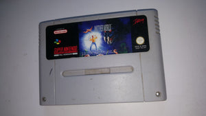 * Super Nintendo Game * ANOTHER WORLD * SNES *