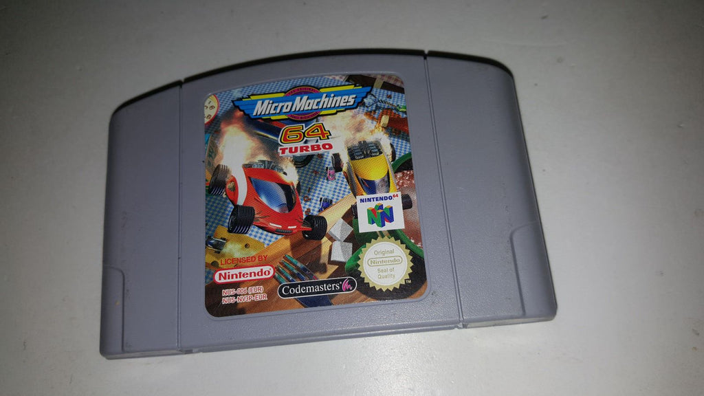 * Nintendo 64 Game * MICRO MACHINES 64 TURBO * N64 G