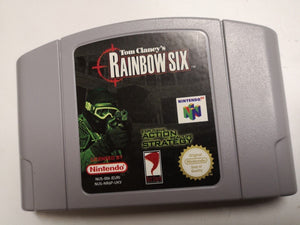 * Nintendo 64 Game * Tom Clancy's RAINBOW SIX * N64