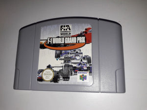 * Nintendo 64 Game * F1 WORLD GRAND PRIX * N64