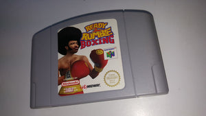 * Nintendo 64 Game * READY 2 RUMBLE BOXING * N64