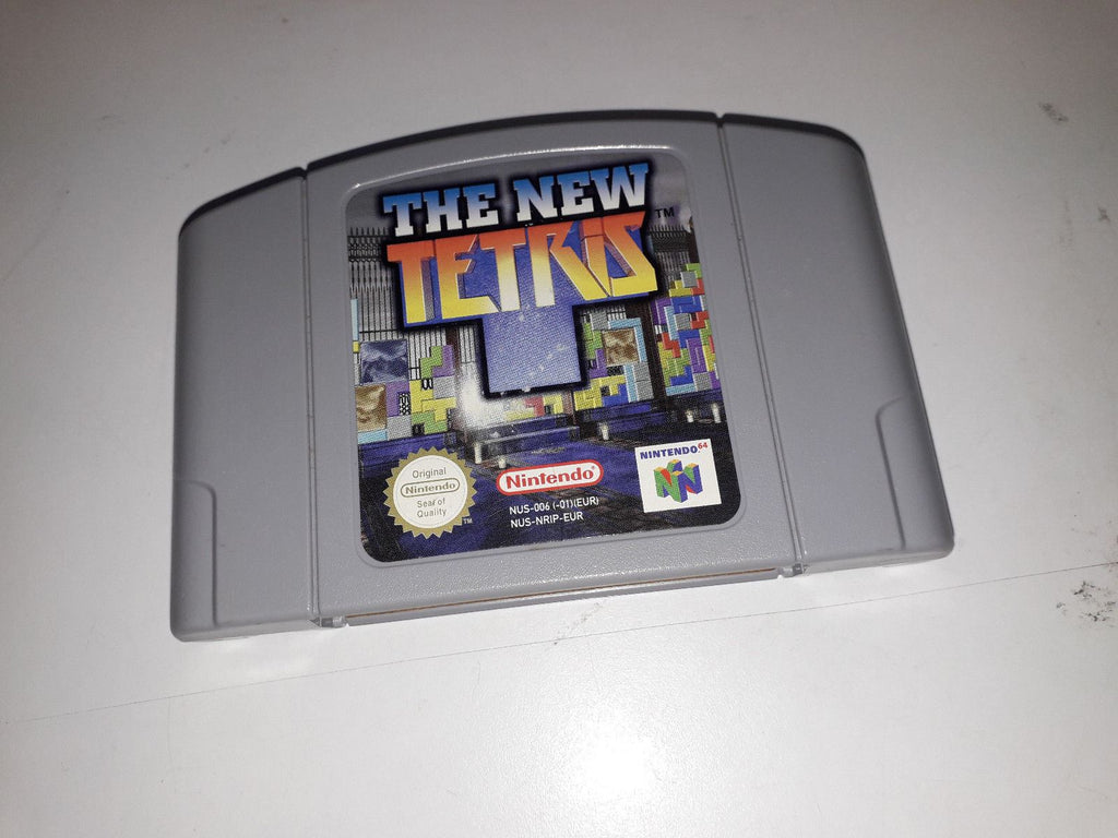 * Nintendo 64 Game * THE NEW TETRIS * N64