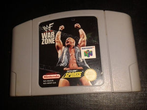 * Nintendo 64 Game * WWF WAR ZONE * N64