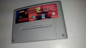 * Super Nintendo Game * SUPER BATTLETANK 2 * SNES