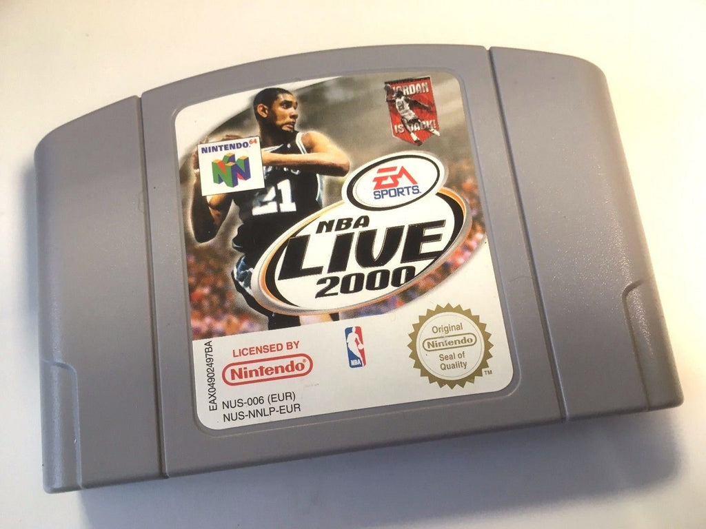 * Nintendo 64 Game * NBA LIVE 2000 * N64