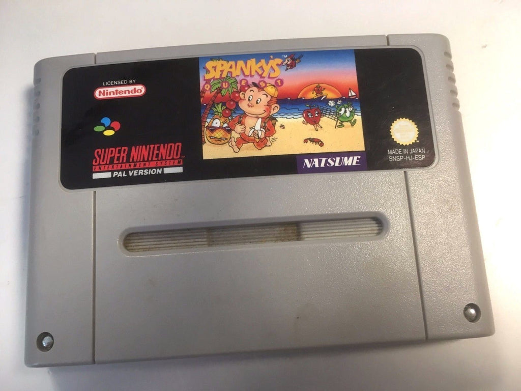 * Super Nintendo Game * SPANKY'S QUEST * SNES *