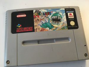* Super Nintendo Game * HUNGRY DINOSAURS * SNES *