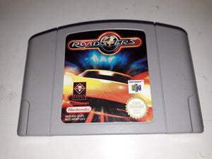 * Nintendo 64 Game * ROADSTERS * N64