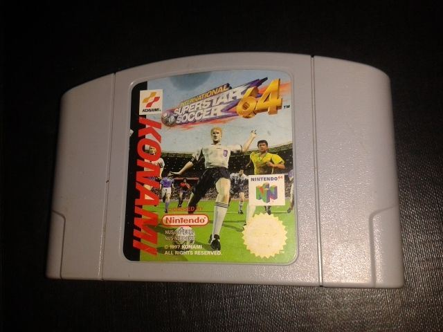 * Nintendo 64 Game * ISS INTERNATIONAL SUPERSTAR SOCCER 64 * N64