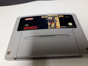 * Super Nintendo Game * MECH WARRIORS 3050 * SNES
